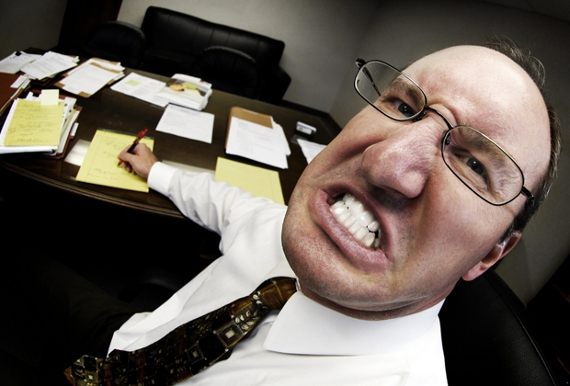 Строгий директор наказывает 8