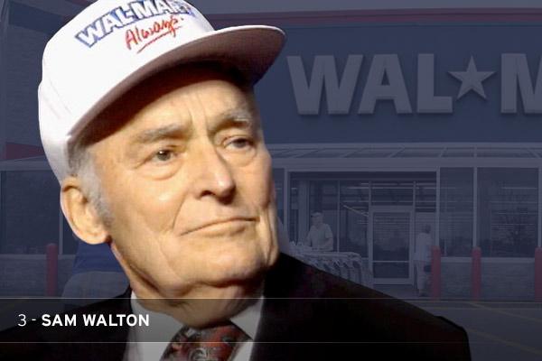 Бренд WalMart и его основатель Сэм Уолтон