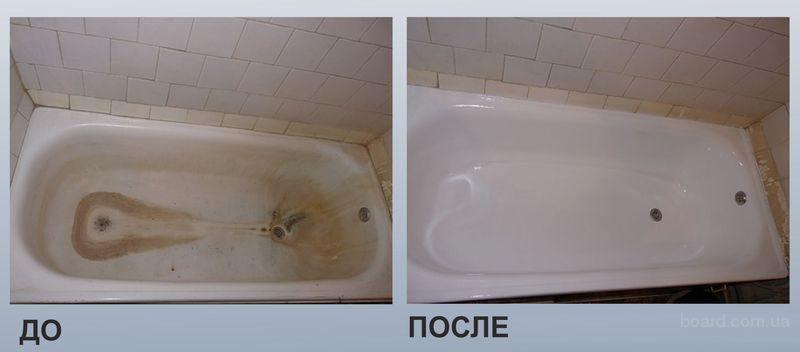 Бизнес на реставрации ванн