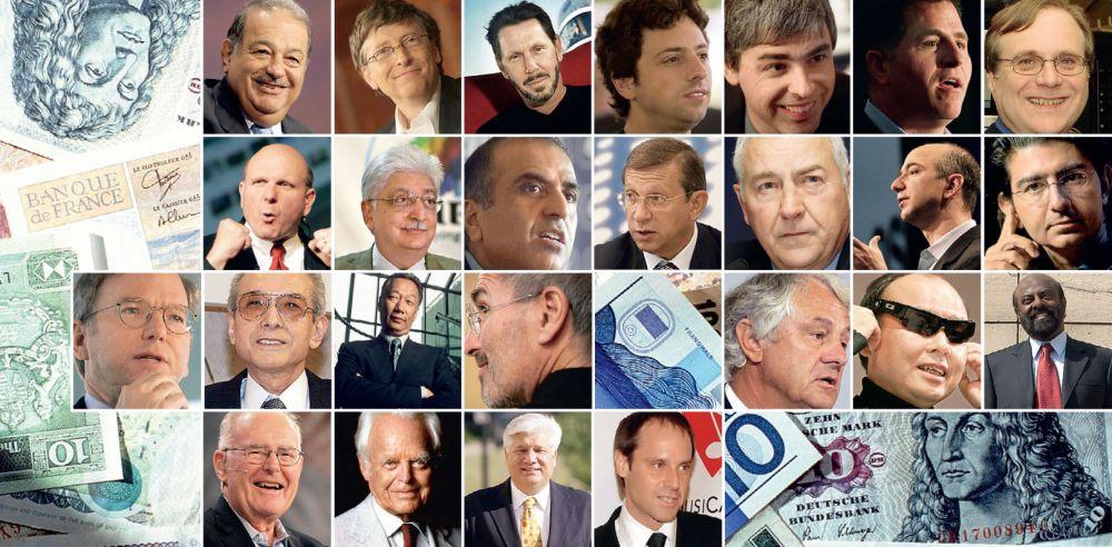 Самые богатые люди в мире