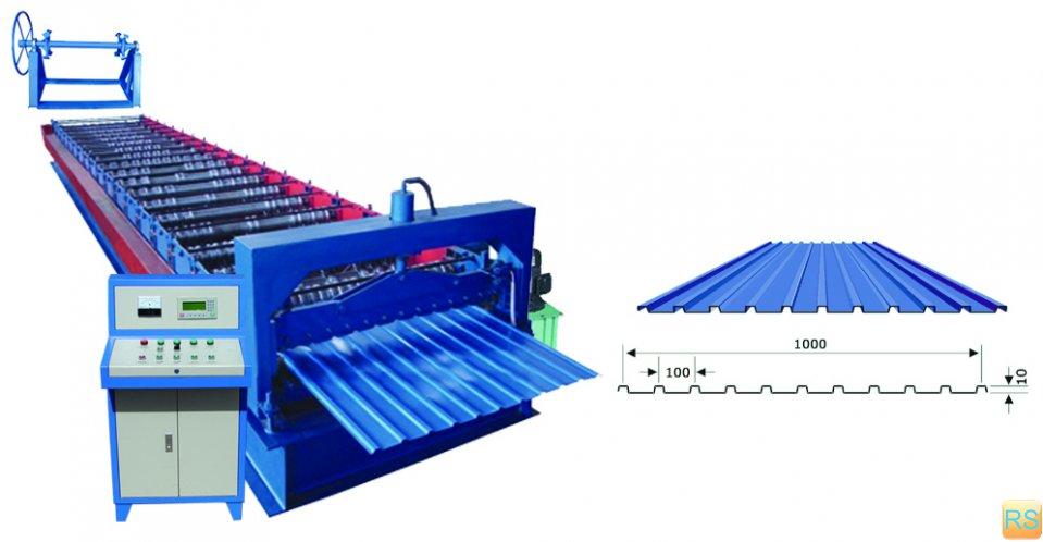 Оборудование, используемое при производстве профилированного настила
