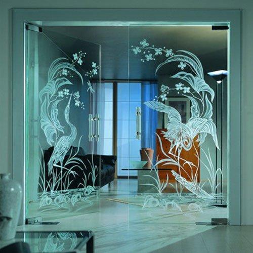Малый бизнес: художественное матирование стекла и зеркал