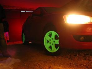 Светящиеся диски на авто