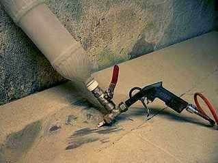 Оборудование для бизнеса на дому: пескоструйный аппарат