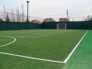 поле для мини футбола