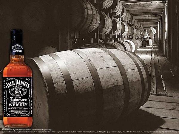 производство Jack Daniels
