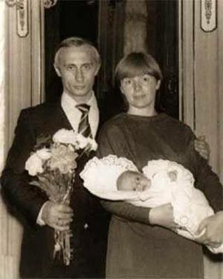 Владимир и Людмила Путины