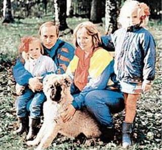 семья Путиных