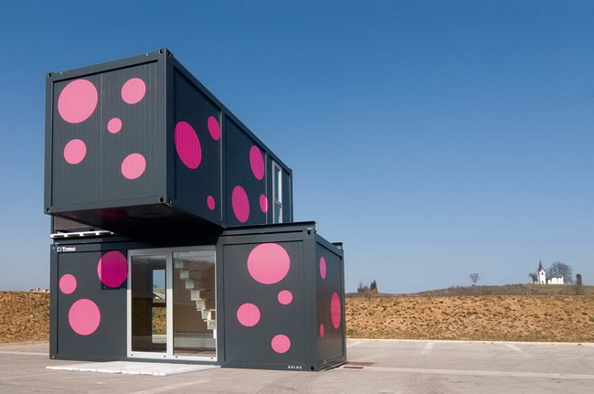 заказать дом из контейнера Jure Kotnik Arhitekt