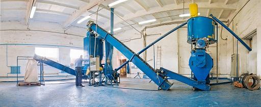 оборудование для производства витаминно-травяной гранулы