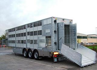 транспортировка сельскохозяйственных животных