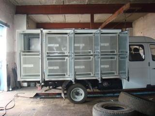 услуги по транспортировке сельскохозяйственных животных