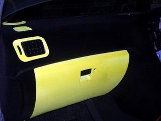 внутренний тюнинг авто флокингом