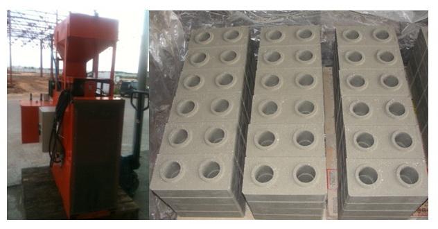 пресс для производства кирпича УГП 25Г1 «Булава» (усилие 25 тонн)