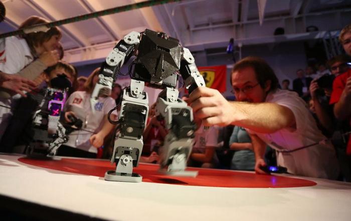 ставки на боях роботов