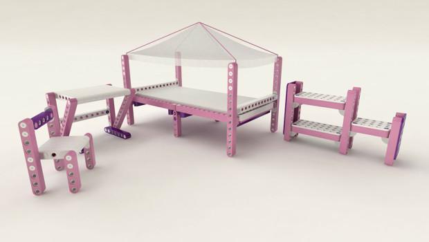 детская мебель-конструктор OLLA