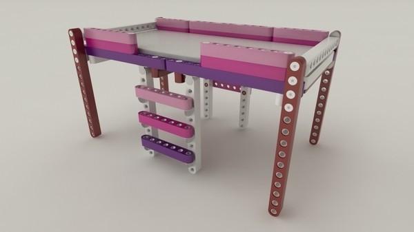 Детская мебель-конструктор OLLA - варианты сборки
