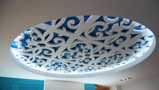 пример 3D декора из пенопласта