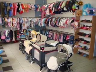 ассортимент детского комиссионного магазина