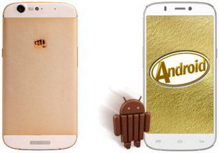 фаблет MicroMax Canvas Gold A300