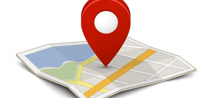 GPS маячок на карте