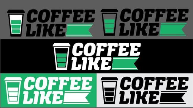 Логотип Кофе Лайк