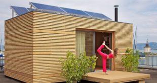 Строительство перевозимых домиков для отдыхающих