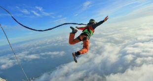 Роупджампинг или прыжки с веревкой