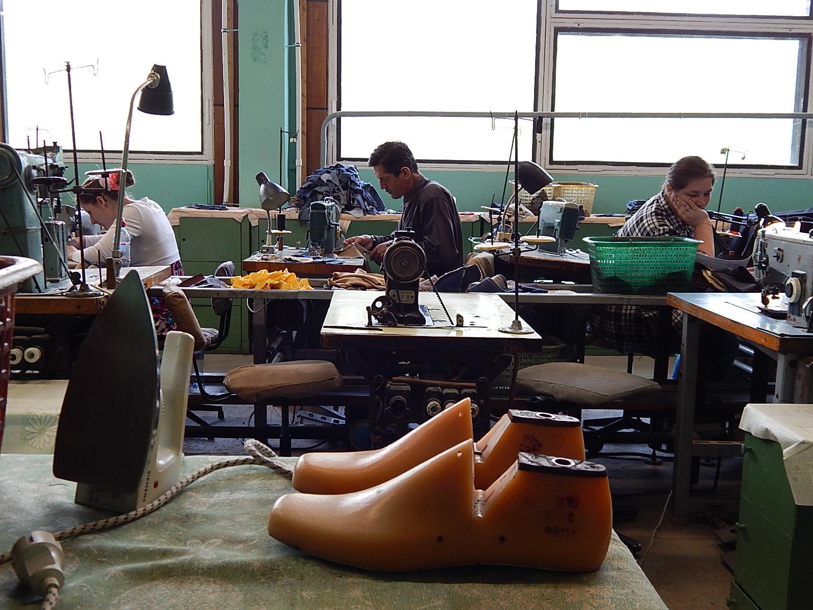 Оборудование для изготовления обуви