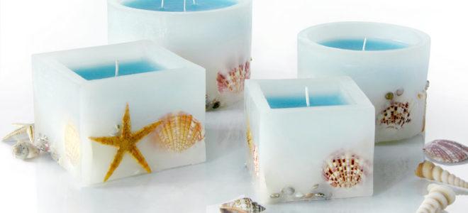 Производство свечей ручной работы