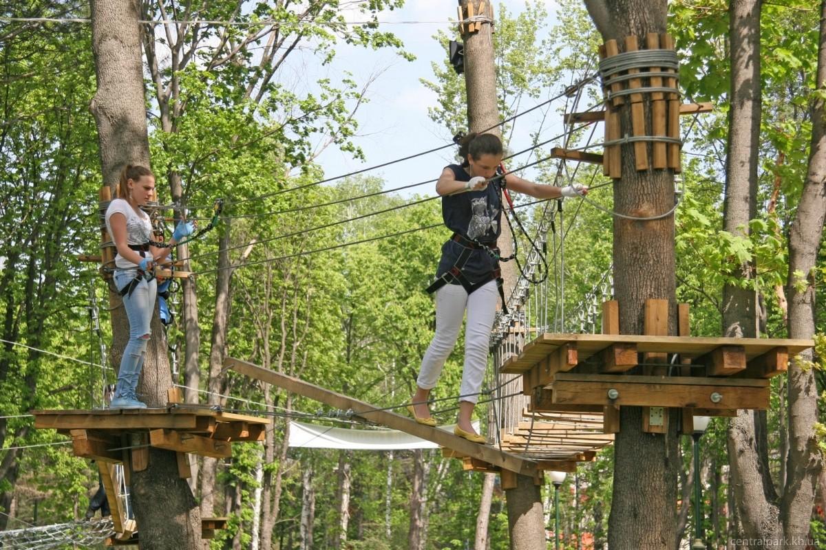 Как сделать веревочный парк своими руками 30