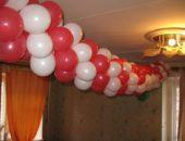 Изготовление гирлянд из воздушных шаров