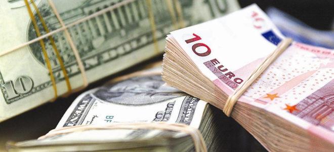 Евро падает ниже $ 1,25