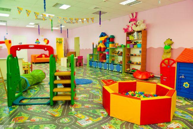 Игровая в частном детском саду