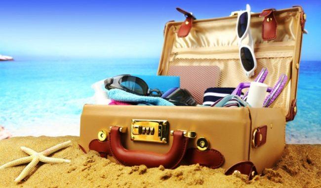 Отпускной чемодан