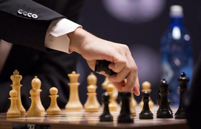 Шахматы, смена фигур