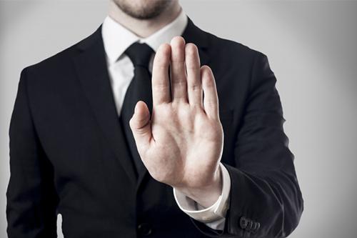 Защитный жест