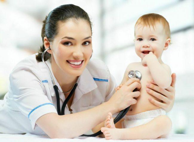 Ребёнок и доктор