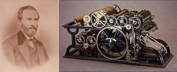 Уильям Буллок и его печатный станок