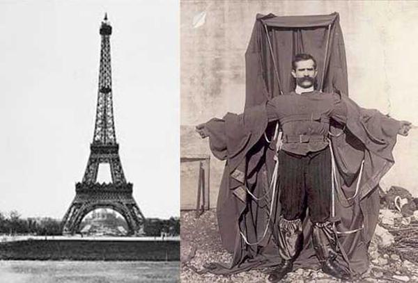 Эйфелева башня и Франц Райхельт