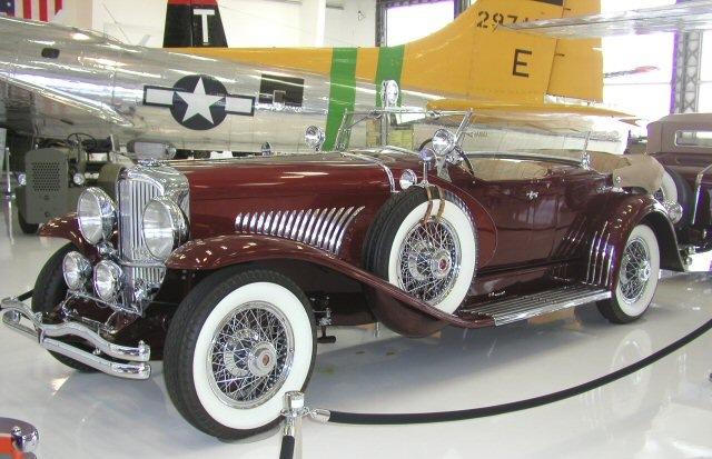 Первый Duesenberg Modell J