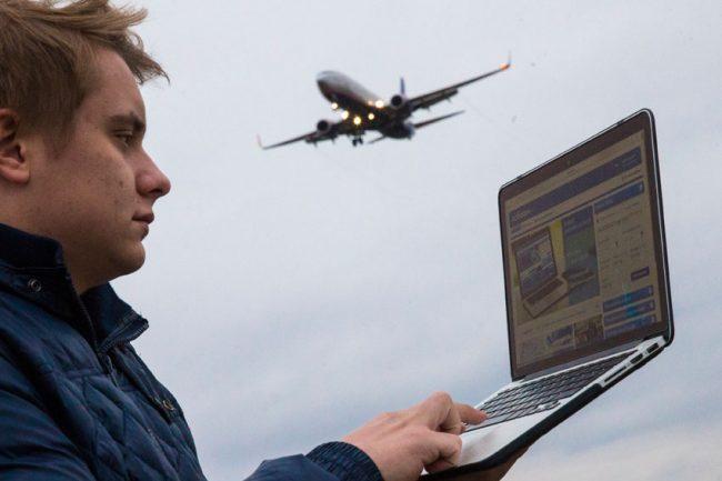 Поиск авиабилетов в интернете
