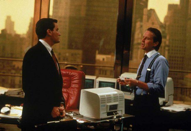 Кадр из фильма «Уолл стрит»