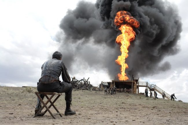 Кадр из фильма «Нефть»