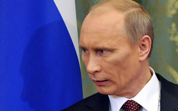 Путин-синяк