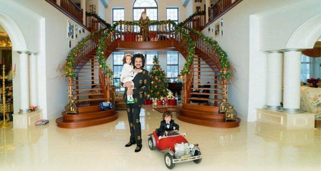 Киркоров в доме с детьми