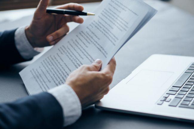 составление документов на поставку товаров