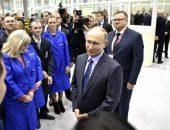 В.В. Путин общается с рабочими