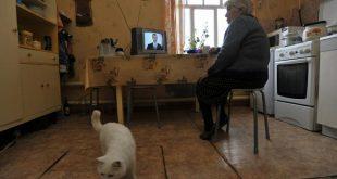 Пенсионерка в квартире