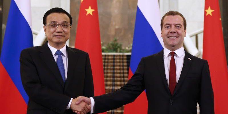 Премьер-министры Китая и России